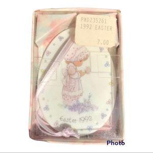 Vintage 1992 Easter Precious Moments VTG Ornament